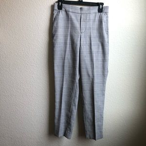 Banana Republic Hayden plaid ankle pants slacks